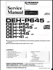 pioneer deh p445 manuals rh manualslib com
