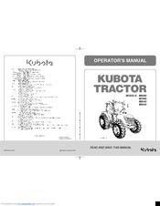 kubota m6040 manuals rh manualslib com Kubota MX100 Kubota M7040