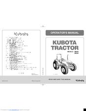 Kubota M9540 Manuals