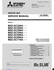 1098124_mrslim_mszgc22na__c1_product mitsubishi electric mr slim msz gc25na c1 manuals