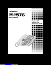 panasonic dbs 576 manuals rh manualslib com panasonic dbs 743e user manual panasonic dbs 576 programming manual