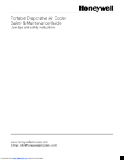 Honeywell CL40PM Maintenance Manual