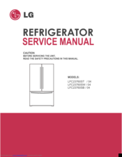 lg ldc24370st service manual and repair guide