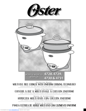 Oster 4731 Instruction Manual