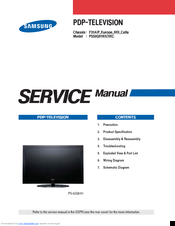 samsung ps50q91hx service manual pdf download rh manualslib com USB Powered External TV Tuner External Tuner for TV Recording