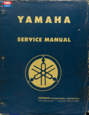 Yamaha YDS3 Service Manual