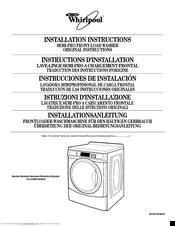 Whirlpool 3LCHW9100WQ Installation Instructions Manual