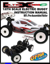 Ofna Racing Ultra LX ONE Manuals on