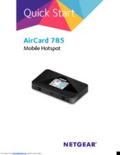 Netgear AirCard 785 Manuals