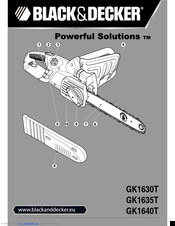 Black & Decker GK1630T Original Instructions Manual