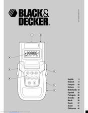 Black & Decker BDM100 User Manual