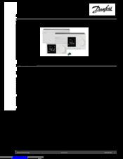 Danfoss ECL Comfort 310 Manuals