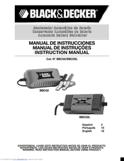 Black & Decker BBC02 Instruction Manual