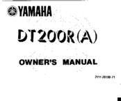 yamaha dt200r manuals challenger wiring diagram manuals and user guides for yamaha dt200r we have 1 yamaha dt200r manual available for free pdf download owner's manual