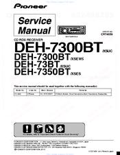 Pioneer DEH-7300BT Manuals | ManualsLibManualsLib