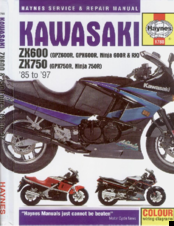 Kawasaki 1987 ZX600 Service And Repair Manual