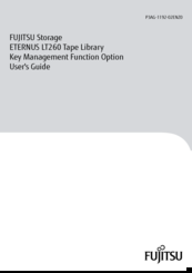 Fujitsu ETERNUS LT260 User Manual
