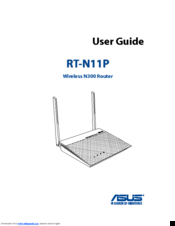 Asus RT-N11P User Manual