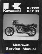 kawasaki kz1100 service manual pdf download rh manualslib com
