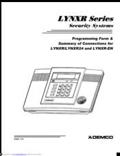 ademco lynxr en manuals rh manualslib com ademco lynxr installation manual ademco lynx manual programming