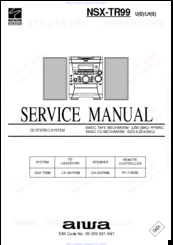 aiwa nsx tr99 manuals rh manualslib com Aiwa Nsx T939 Aiwa Nsx V9000
