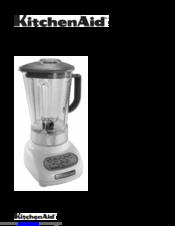 Kitchenaid KSB560OB0 Manuals