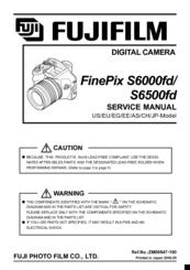 fujifilm finepix s6000fd manuals rh manualslib com Fujifilm USB Cable Fujifilm Warranty Card
