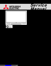 Mitsubishi Electric WD-60C10 Service Manual