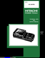 hitachi uc 24yfb manuals rh manualslib com Hitachi 12V Charger hitachi battery charger uc18ygl2 manual