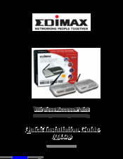 Edimax EW-7209APg Quick Installation Manual
