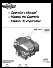 briggs stratton 100000 650 series manuals rh manualslib com briggs and stratton 650 series 190cc engine manual briggs stratton 650 manual