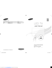Samsung UE65F9000 User Manual