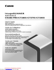 canon imagerunner advance c9280 pro manuals rh manualslib com canon imagerunner c3200 service manual canon imagerunner c3200 driver