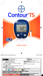 bayer healthcare contour ts manuals rh manualslib com Bayer Contour Blood Glucose Monitoring System Contour Strips
