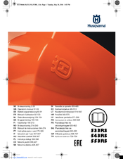 Husqvarna 533RS Operator's Manual