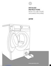 gorenje w7223 manuals rh manualslib com Clip Art User Guide User Guide Cover