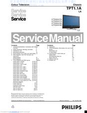 philips 42ta2800 79 manuals rh manualslib com service manual philips lcd tv service manual philips 40pfl5706-f7