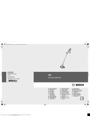Bosch ART 23-28 Original Instructions Manual