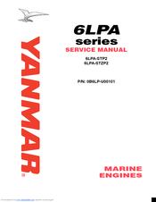 Yanmar 6lpa-dtp diesel engine service manual.