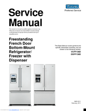 VIKING VCFF136D SERVICE MANUAL Pdf Download. on