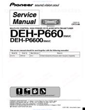 Pioneer DEH-P6600 Manuals | ManualsLibManualsLib