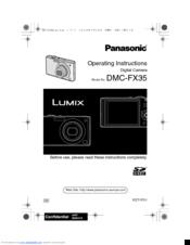 panasonic lumix dmc fx35 manuals rh manualslib com 2007 FX35 2007 FX35