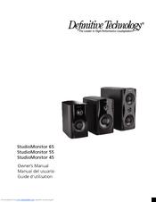 Definitive Technology StudioMonitor 65 Manuals