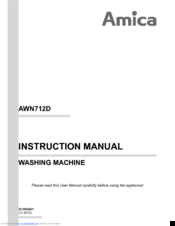 amica awn614d manuals rh manualslib com amica oven user manual Microwave Oven