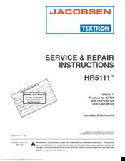 Jacobsen HR 5111 Manuals on