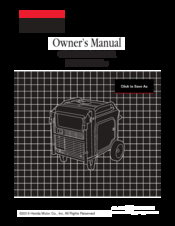 Honda DS-2CC102P(N)-IRT Owner's Manual