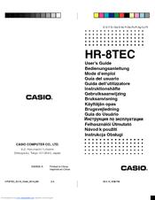 casio hr 8tec manuals rh manualslib com casio hr-100tm user guide casio hr-100tm user guide