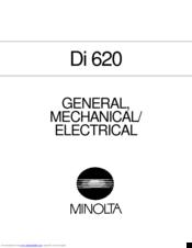 Minolta di520 di620 service manual download manuals & technical.