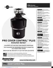 InSinkErator Evolution Pro Cover Control Plus Manual