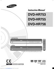 samsung dvd hr755 manuals rh manualslib com samsung dvd v6800 user manual samsung dvd-hr777 user manual